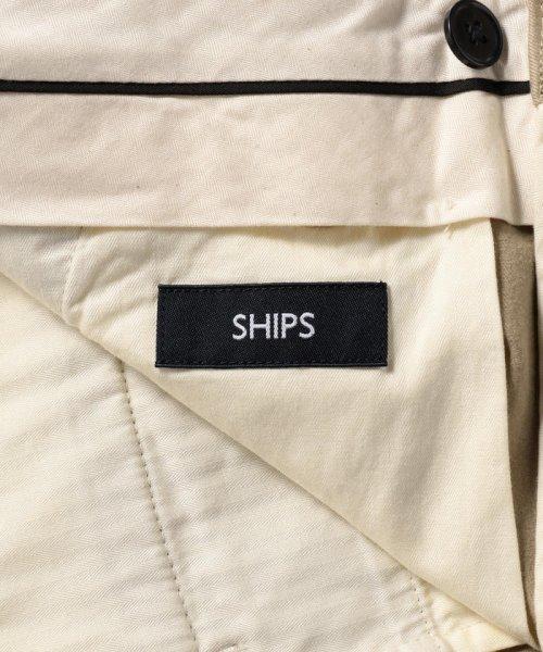 SHIPS MEN(シップス メン)/SC: 1タック ワイド トラウザーズ チノパンツ/113140581_img11