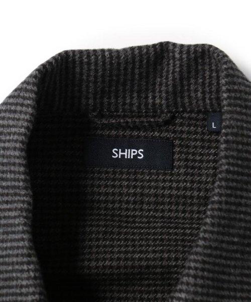 SHIPS MEN(シップス メン)/SC: ビッグシルエット チェック CPO ネルシャツ/111140539_img16