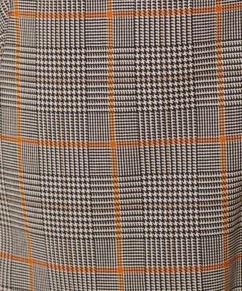 Couture Brooch(クチュールブローチ)/【WEB限定プライス/WEB限定サイズ(LL)あり/手洗い可】チェック×無地 リバーシブルブルゾン/20190250847009_img06