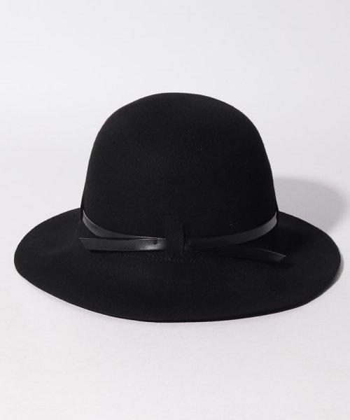 SISLEY(シスレー(レディス))/ウールフェイクレザーリボンハット・帽子/19A6GCVW41A5_img04