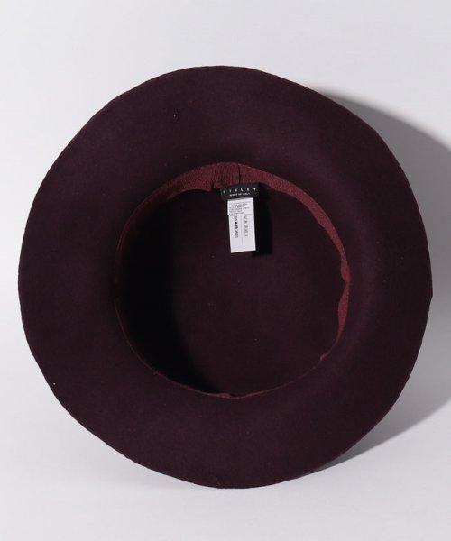SISLEY(シスレー(レディス))/ウールフェイクレザーリボンハット・帽子/19A6GCVW41A5_img12