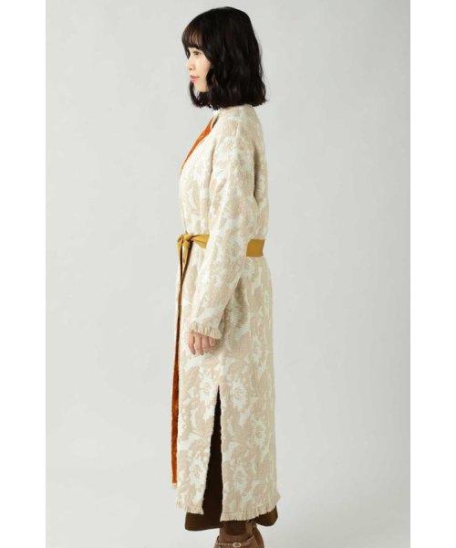 ROSE BUD(ローズバッド)/Wool Jacquard Coat/6019220029_img04