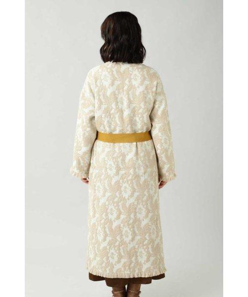 ROSE BUD(ローズバッド)/Wool Jacquard Coat/6019220029_img05
