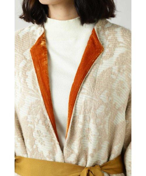 ROSE BUD(ローズバッド)/Wool Jacquard Coat/6019220029_img06