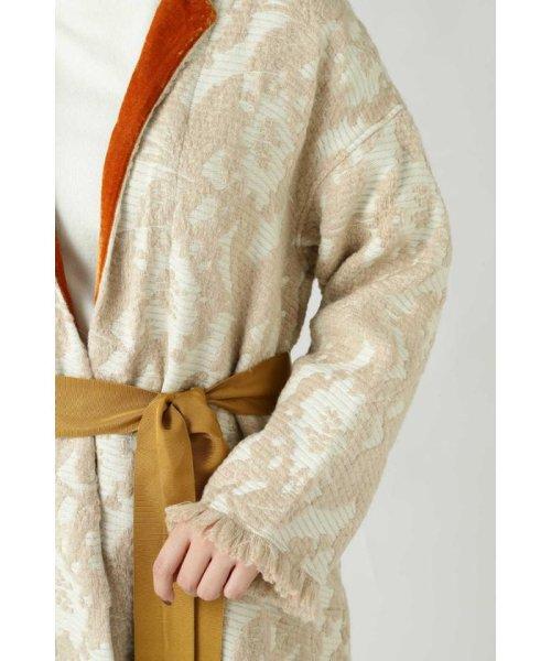 ROSE BUD(ローズバッド)/Wool Jacquard Coat/6019220029_img07