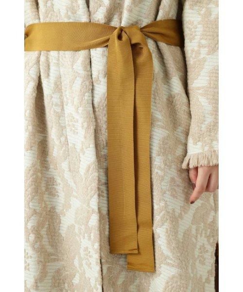 ROSE BUD(ローズバッド)/Wool Jacquard Coat/6019220029_img09