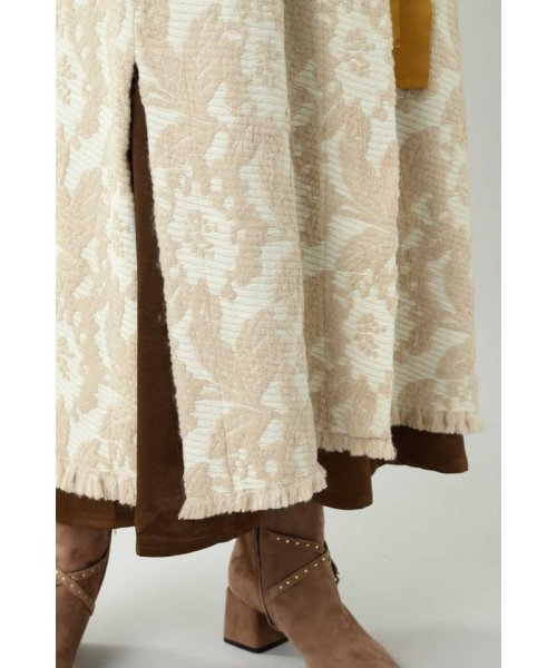 ROSE BUD(ローズバッド)/Wool Jacquard Coat/6019220029_img10
