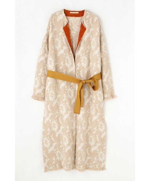 ROSE BUD(ローズバッド)/Wool Jacquard Coat/6019220029_img11