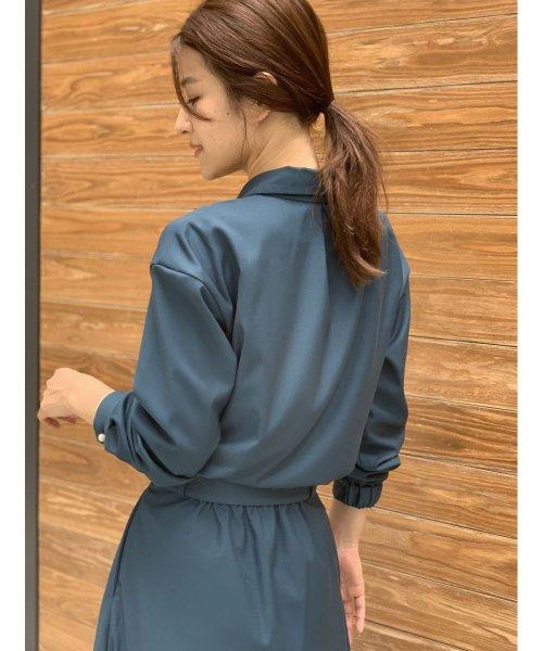 TONAL(トーナル)/【セットアップ対応商品】【TV着用】パール釦オープンシャツ/009210041_img01