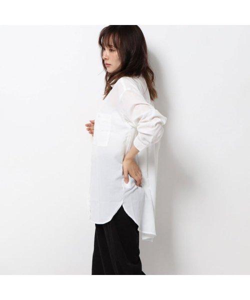 STYLEBLOCK(スタイルブロック)/スタイルブロック STYLEBLOCK ポケットBIGシャツ (カーキ)/ST4819EW27809_img02