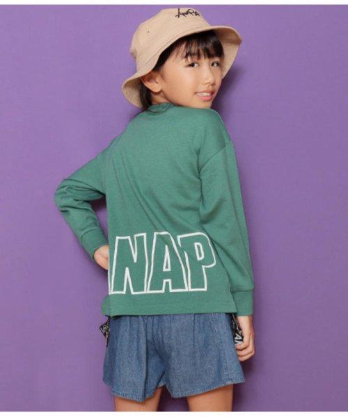 ANAP KIDS(アナップキッズ)/ビッグプリントトレーナー/0437700033_img11