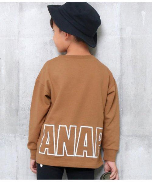 ANAP KIDS(アナップキッズ)/ビッグプリントトレーナー/0437700033_img15