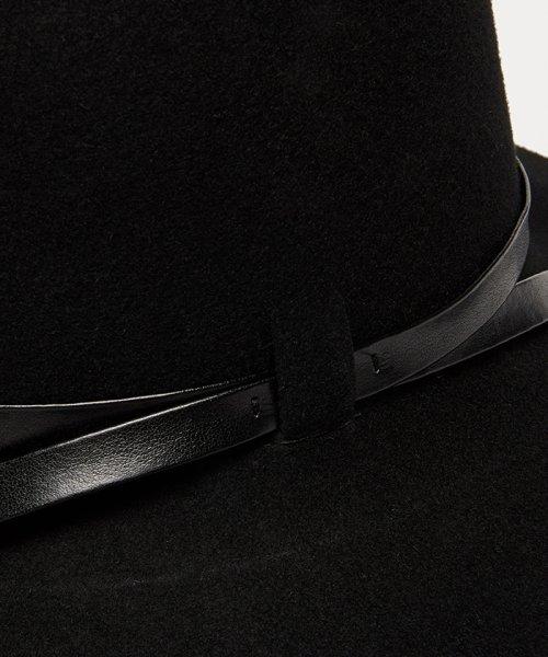 SISLEY(シスレー(レディス))/ウールフェイクレザーリボンハット・帽子/19A6GCVW41A5_img02