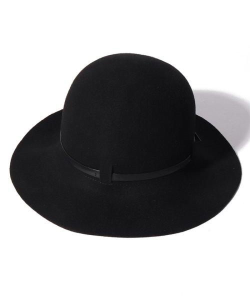 SISLEY(シスレー(レディス))/ウールフェイクレザーリボンハット・帽子/19A6GCVW41A5_img03