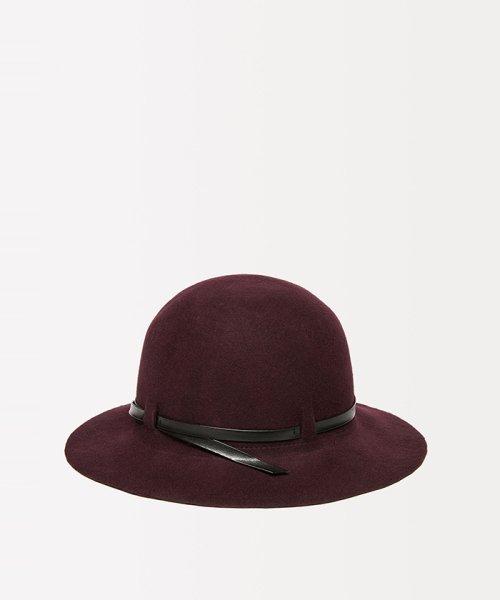 SISLEY(シスレー(レディス))/ウールフェイクレザーリボンハット・帽子/19A6GCVW41A5_img08