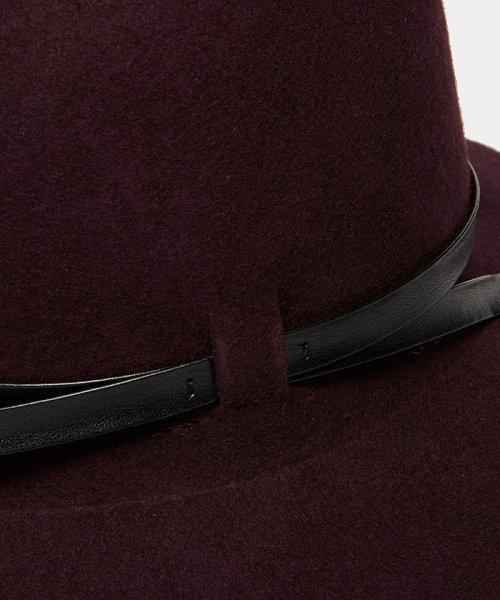 SISLEY(シスレー(レディス))/ウールフェイクレザーリボンハット・帽子/19A6GCVW41A5_img09