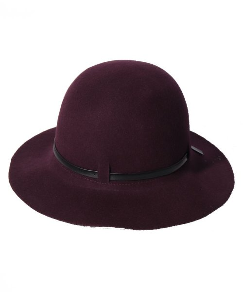 SISLEY(シスレー(レディス))/ウールフェイクレザーリボンハット・帽子/19A6GCVW41A5_img10