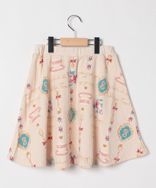 ShirleyTemple(シャーリーテンプル)/総柄スカート(150~160cm)/02922663P10800_img01