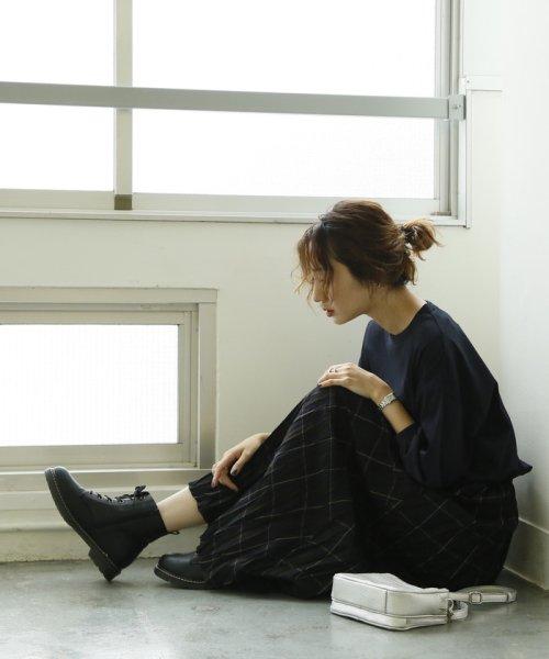 coen(コーエン)/【ムック本掲載】クリンクルプリーツチェックスカート/76706059066_img05