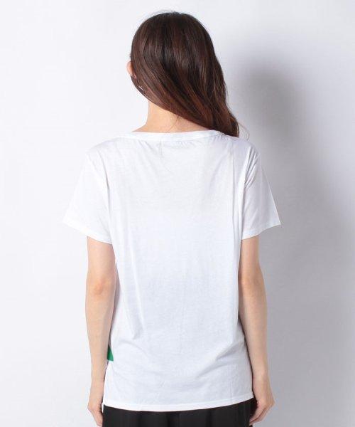 BENETTON (women)(ベネトン(レディース))/マルチカラーロゴサイドスリットポイントTシャツ・カットソー/19A3P1ZE15A0_img22