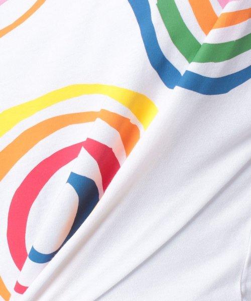 BENETTON (women)(ベネトン(レディース))/マルチカラーロゴサイドスリットポイントTシャツ・カットソー/19A3P1ZE15A0_img24