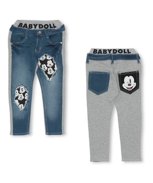 BABYDOLL(ベビードール)/ディズニー ダメージデニムロングパンツ 2997K/DIYG032997_img01