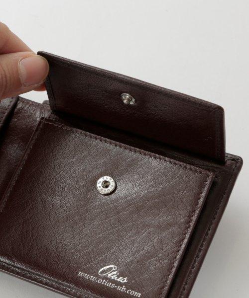 Otias(オティアス)/オティアス Otias / バッファローレザー二つ折り財布/050008212_img05
