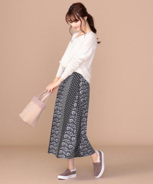 anySiS(エニィ スィス)/【洗える】パネルプリントロング スカート/SKWPKW0001_img23