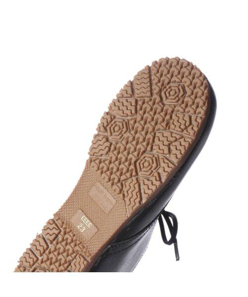 yuriko matsumoto(ユリコ マツモト)/ユリコ マツモト yuriko matsumoto マニッシュ シンプル コンフォート 本革 日本製 ゴムヒモ靴 (BL])/YU4966BW00280_img04