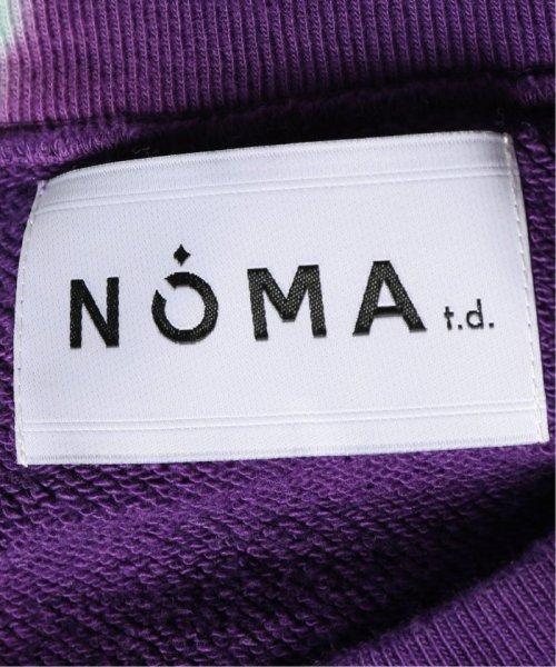 JOURNAL STANDARD relume Men's(ジャーナルスタンダード レリューム メンズ)/NOMA t.d. / ノーマティーディー タイダイ Twisted スウェット/19070465004430_img10