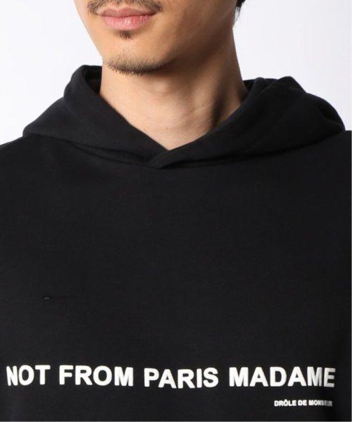JOURNAL STANDARD relume Men's(ジャーナルスタンダード レリューム メンズ)/DROLE DE MONSIEUR / ドロールドムッシュ NFPM Slogan フーディ/19070465011330_img05