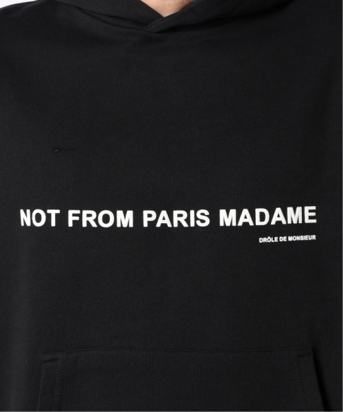 JOURNAL STANDARD relume Men's(ジャーナルスタンダード レリューム メンズ)/DROLE DE MONSIEUR / ドロールドムッシュ NFPM Slogan フーディ/19070465011330_img09