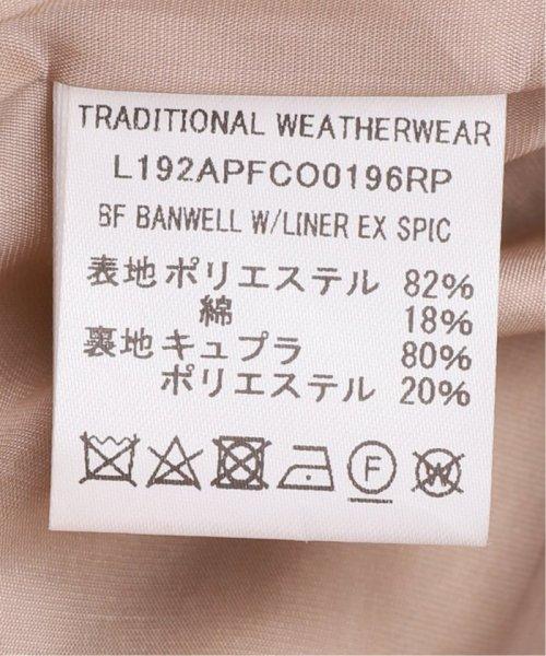 Spick & Span(スピック&スパン)/【Traditional Weatherwear】別注ライナーツキロングダブルコート/19020210001230_img22