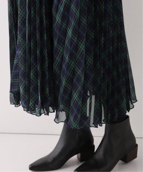 Spick & Span(スピック&スパン)/【BIRGITTE HERSKIND】チェックプリーツドレス/19040210003230_img12
