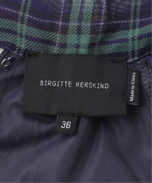 Spick & Span(スピック&スパン)/【BIRGITTE HERSKIND】チェックプリーツドレス/19040210003230_img15