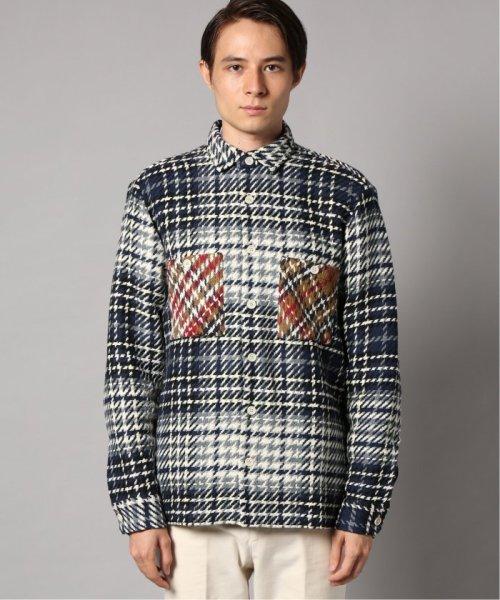 EDIFICE(エディフィス)/WAX LONDON / ワックスロンドン バスケットチェックシャツ/19050310302030_img02