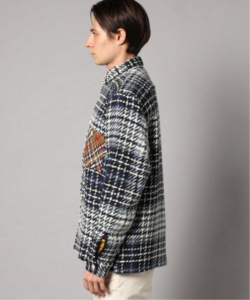 EDIFICE(エディフィス)/WAX LONDON / ワックスロンドン バスケットチェックシャツ/19050310302030_img03