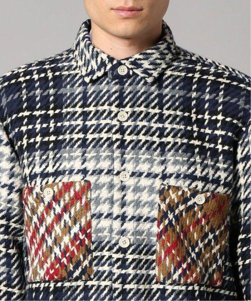 EDIFICE(エディフィス)/WAX LONDON / ワックスロンドン バスケットチェックシャツ/19050310302030_img05