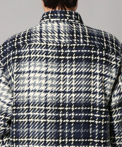 EDIFICE(エディフィス)/WAX LONDON / ワックスロンドン バスケットチェックシャツ/19050310302030_img06