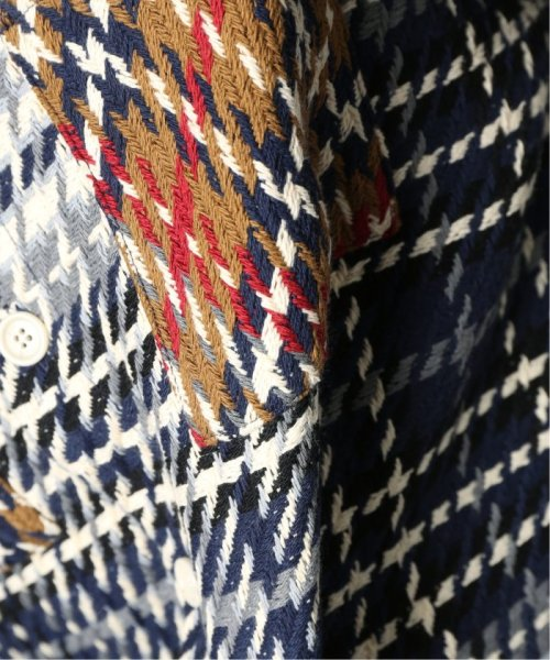 EDIFICE(エディフィス)/WAX LONDON / ワックスロンドン バスケットチェックシャツ/19050310302030_img16