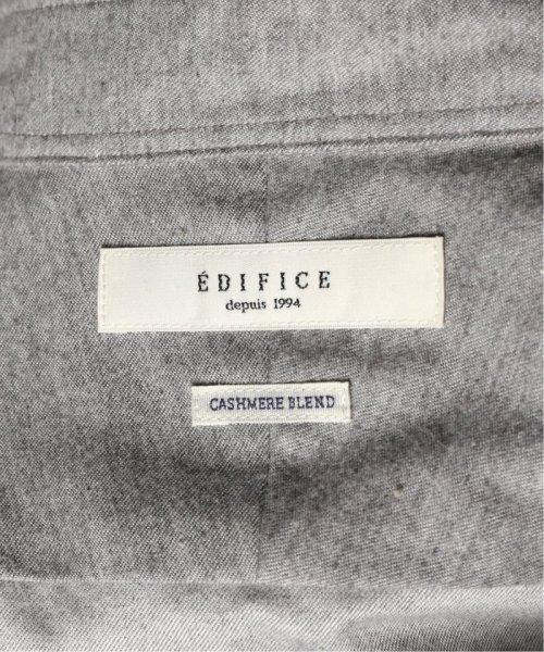 EDIFICE(エディフィス)/コットンカシミア シャンブレーカッタウェイ/19050300100130_img37