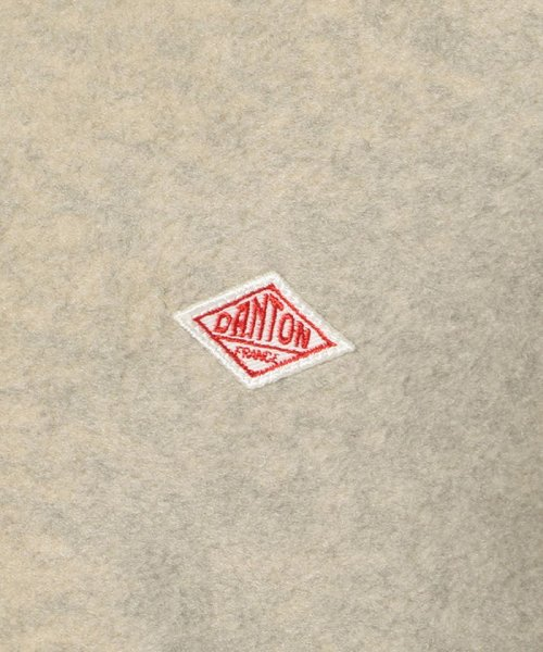 UNCUT BOUND(UNCUT BOUND)/DANTON(ダントン) ノーカラーフリースカーディガン ブルゾン / JD-8911/2319304-20_img05