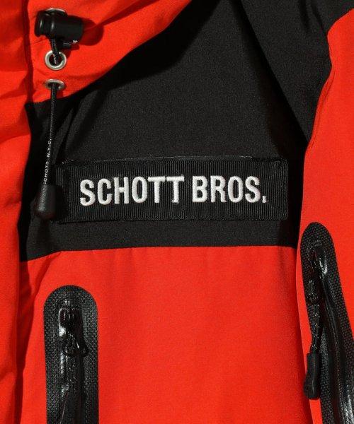 Schott(ショット)/2TONE DOWN PARKA/ツートーン ダウンパーカー/3192036-30_img04