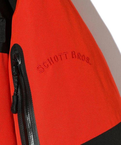 Schott(ショット)/2TONE DOWN PARKA/ツートーン ダウンパーカー/3192036-30_img06