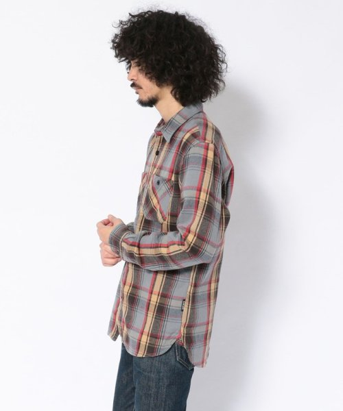 Schott(ショット)/【直営店限定】VINTAGE NEL PLAID OPEN COLLAR SHIRT/ヴィンテージ オープンカラーネルシャツ/3195044-30_img01