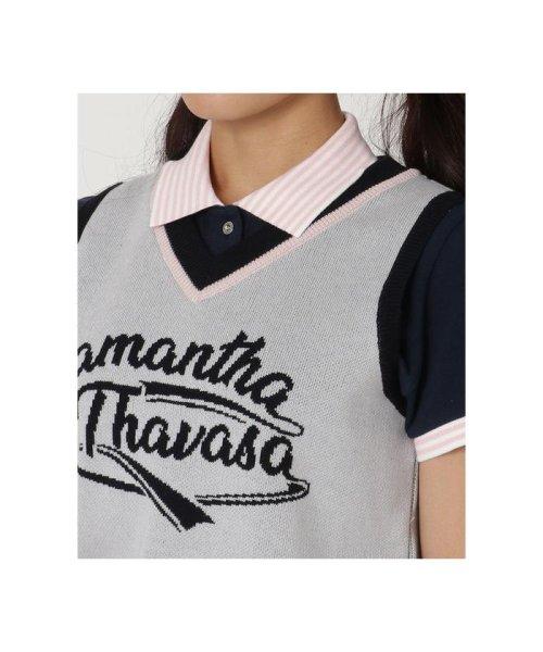 Samantha Thavasa UNDER25&NO.7(サマンサタバサアンダー)/Vネックニットベスト/00771921400009_img04