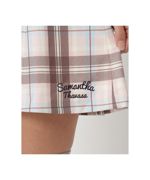 Samantha Thavasa UNDER25&NO.7(サマンサタバサアンダー)/チェックリボンフレアースカート/00771922200007_img06