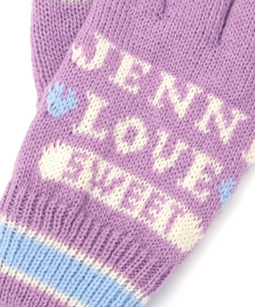 JENNI love(ジェニィラブ)/パステルラインスマホ対応手袋/02296503_img05