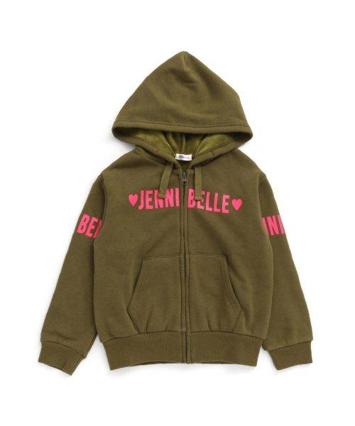 JENNI belle(ジェニィベル)/レタリングZIPパーカー/02396102_img07