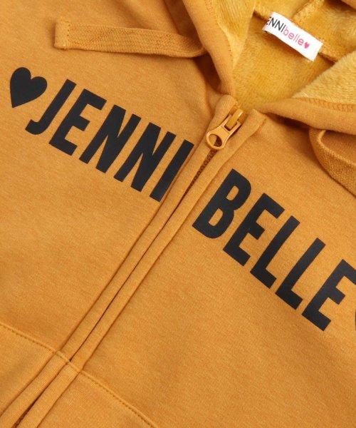 JENNI belle(ジェニィベル)/レタリングZIPパーカー/02396102_img12